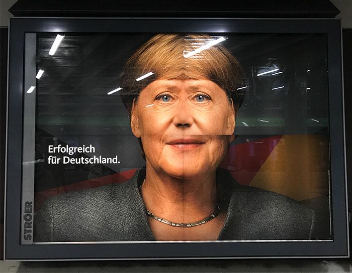 Que aconteceu a Angela Merkel?
