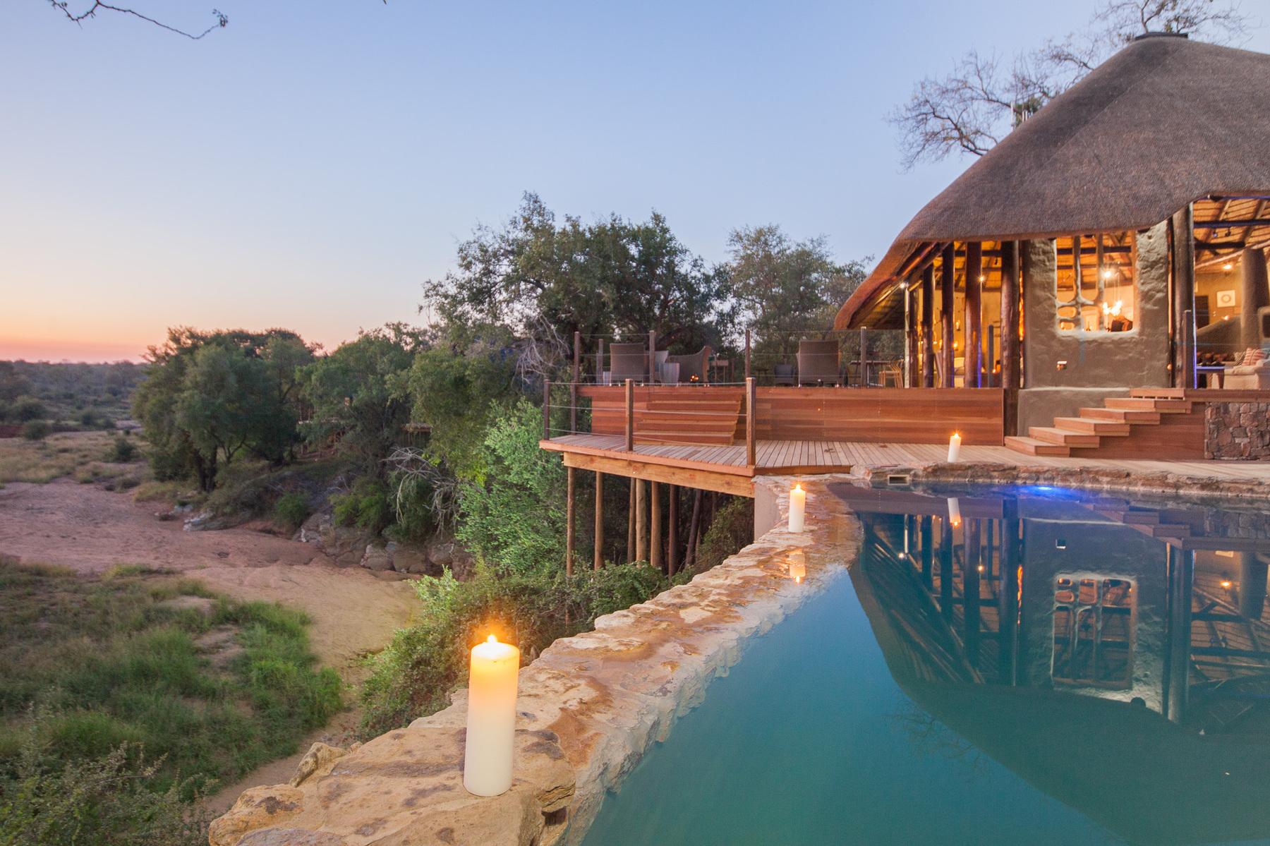A incrível piscina