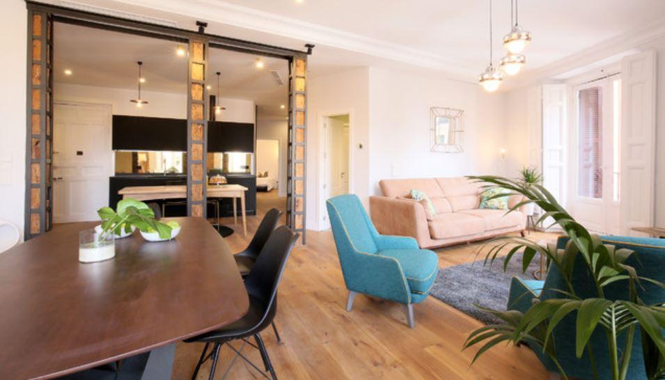 Ideias de pavimentos para a sala de estar