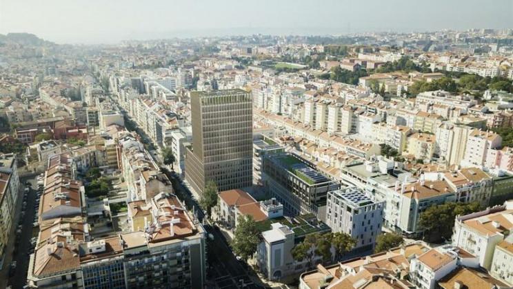 O projeto da Almirante Reis, em Lisboa / © D.R. via Diário de Notícias