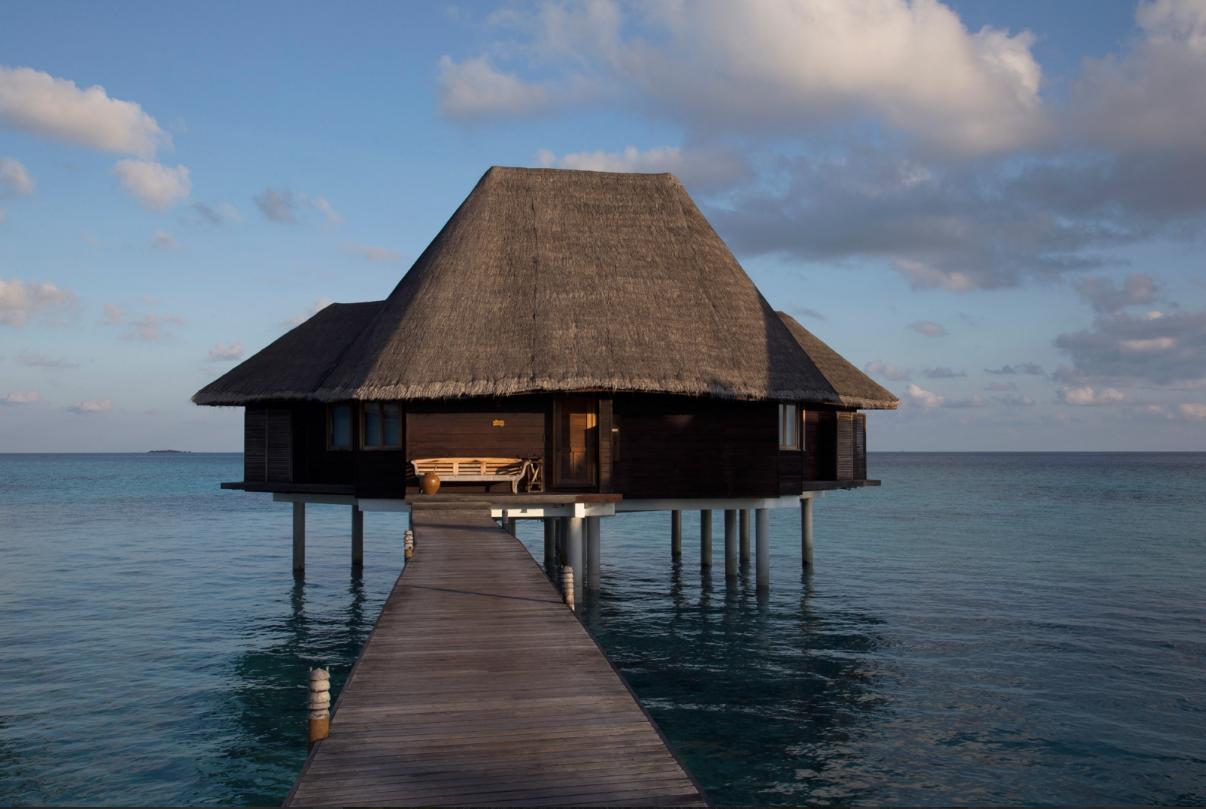 A cabana sobre a água