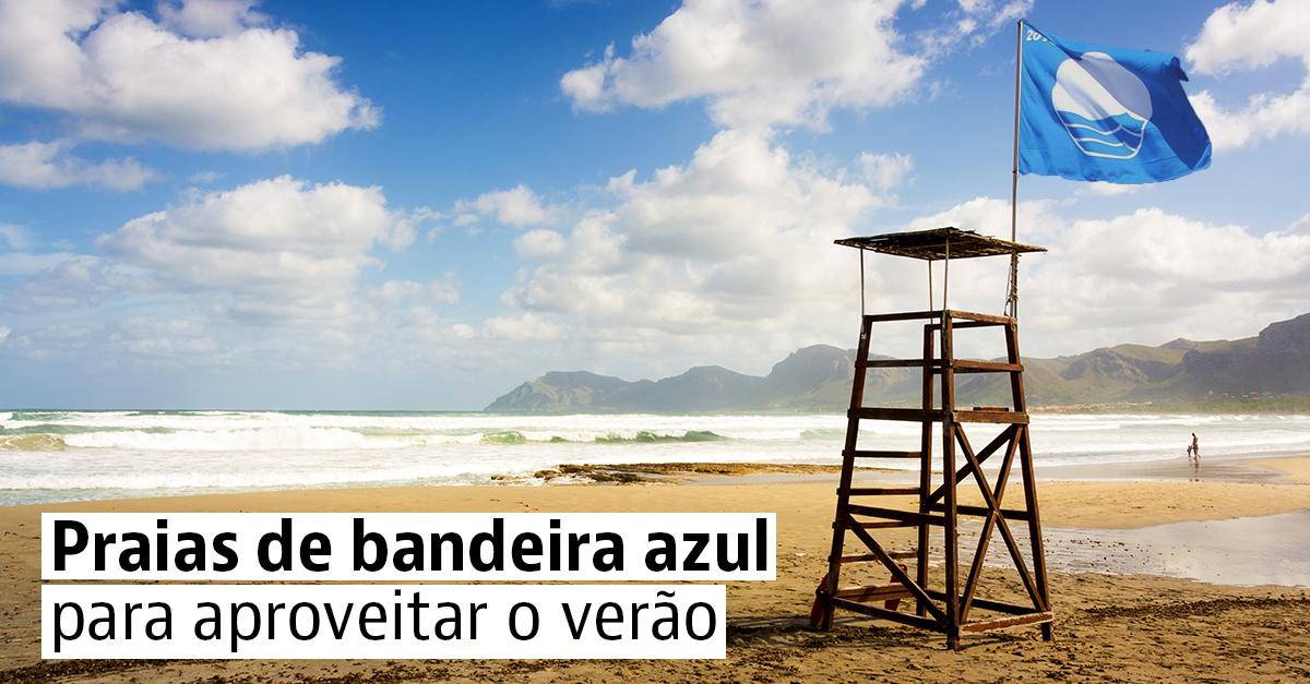 As melhores praias de bandeira azul em Portugal