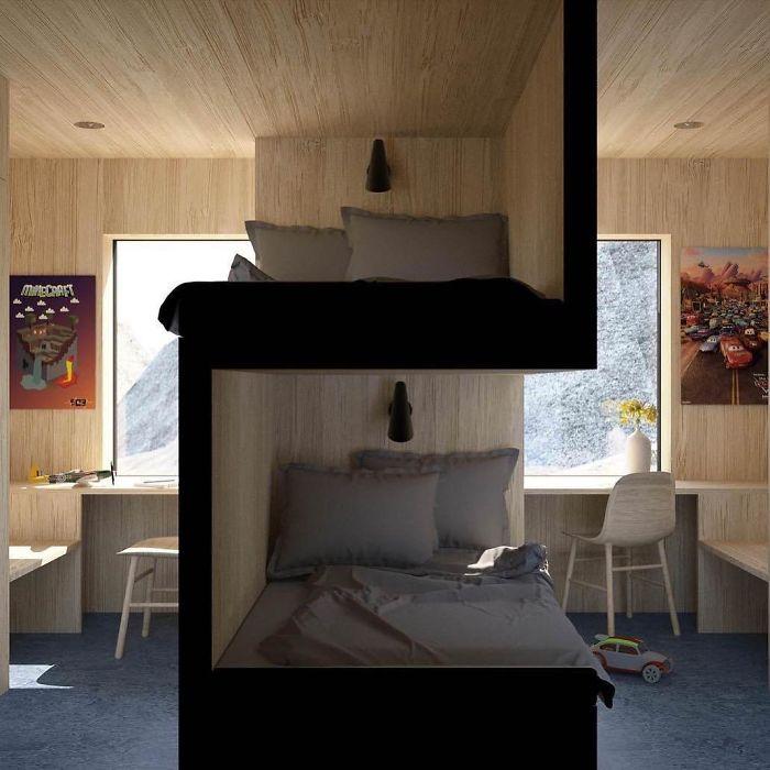 Um quarto 'diferente'