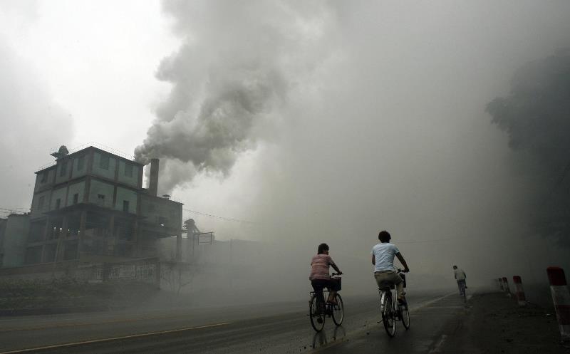 Os níveis de poluição são assustadores