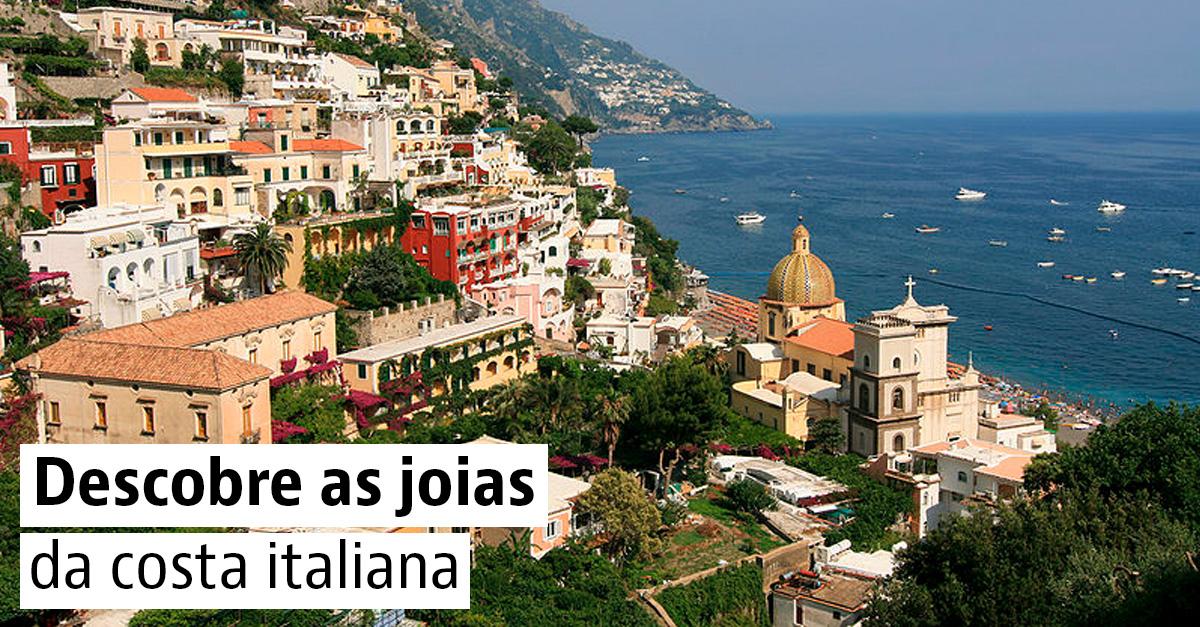 As mais belas cidades costeiras de Itália