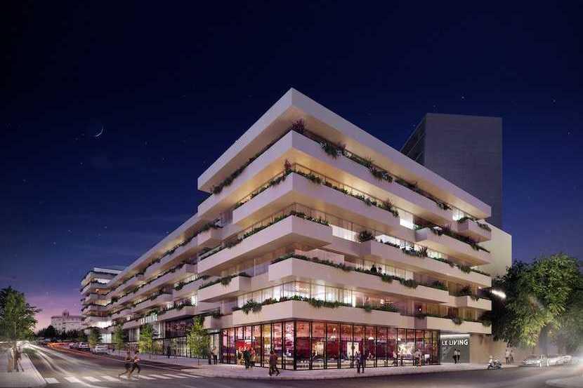 Pojeto LX Living, nas Amoreiras, terá 151 apartamentos de luxo / LX Living