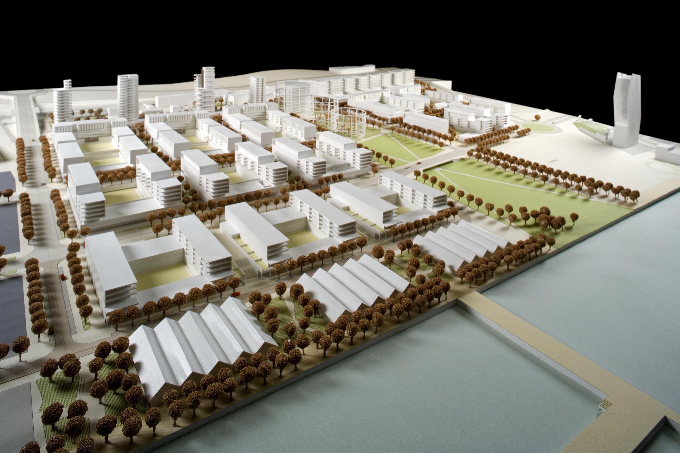 Maquete do empreendimento, que começa a ser construído em 2020 / VIC Properties