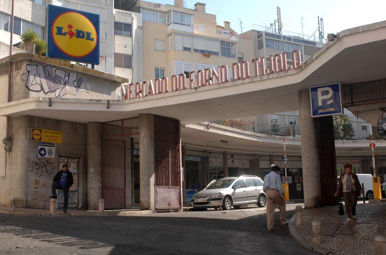 A fachada do mercado onde o projeto vai ser instalado / CML