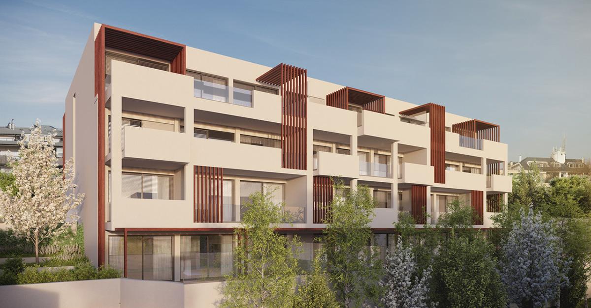 MontevideuSixVillas: empreendimento de habitação de gama alta, no Porto / Lucios