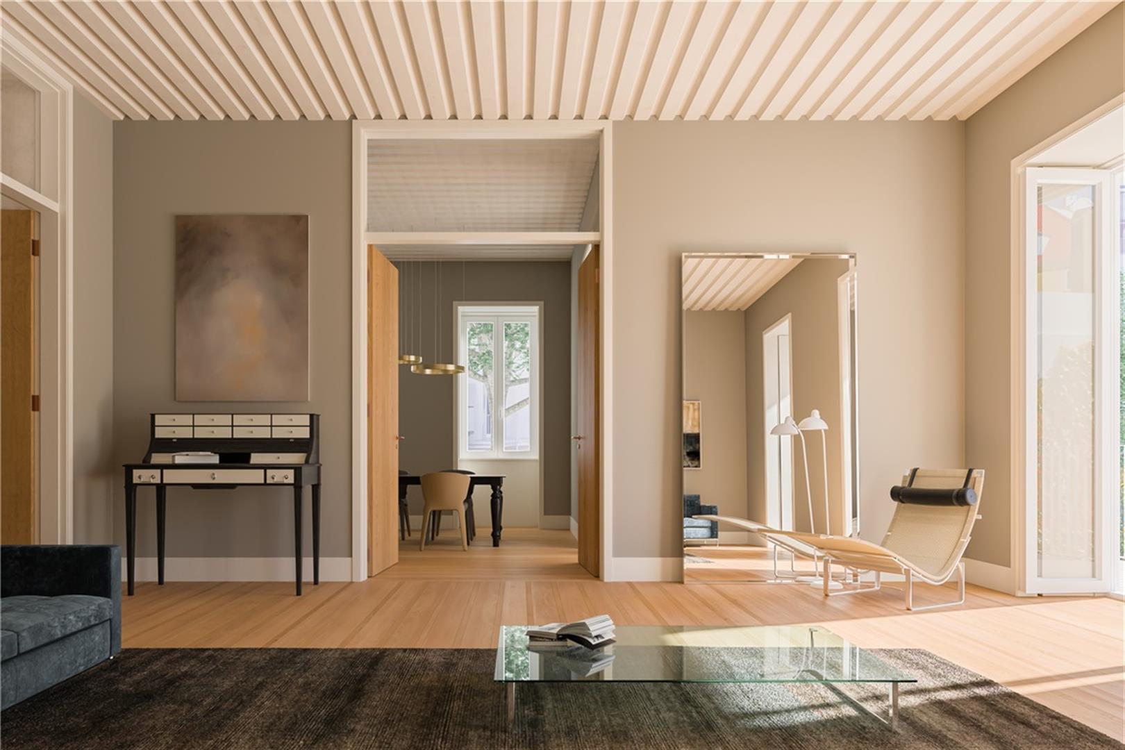 O interior de um dos apartamentos / JLL