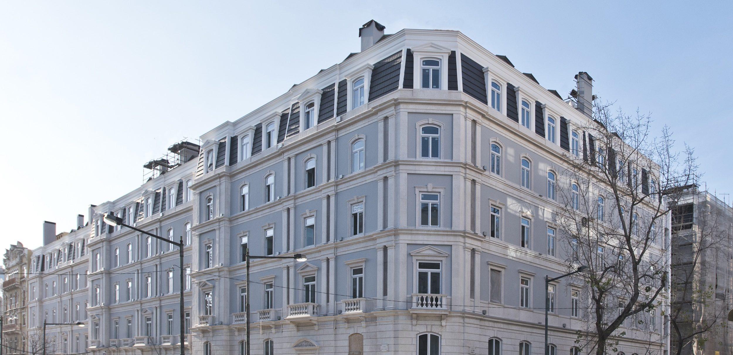 """SottoMayor Residências, em Lisboa, ganhou o prémio de """"Melhor empreendimento de habitação"""" de 2018 / Coporgest"""