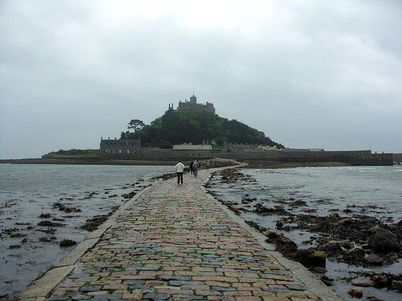A ilha, o castelo e o jardim...