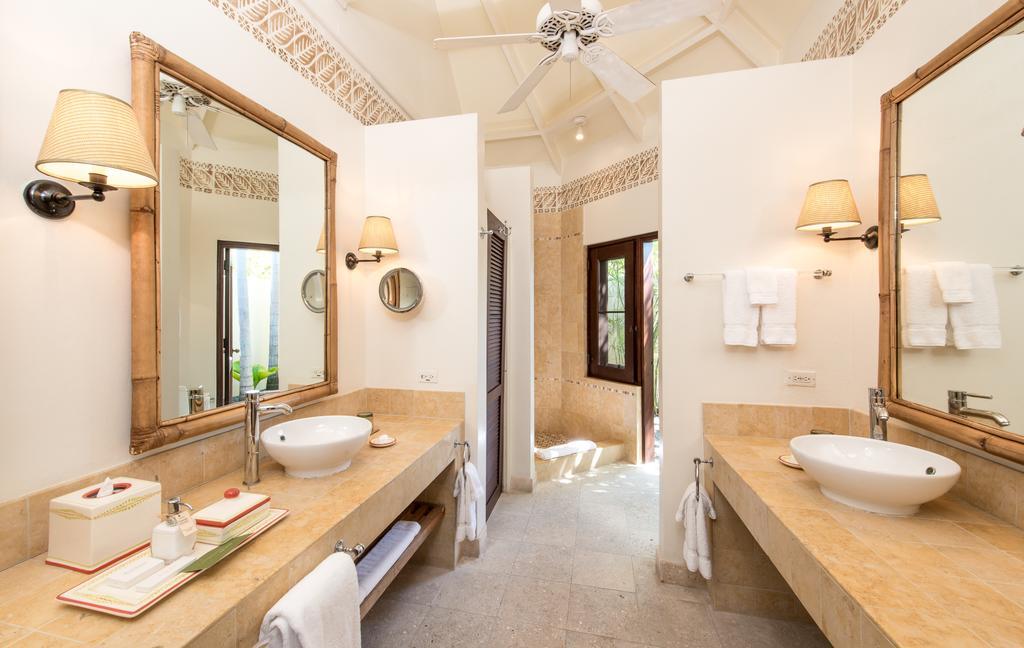 Uma casa de banho luxuosa