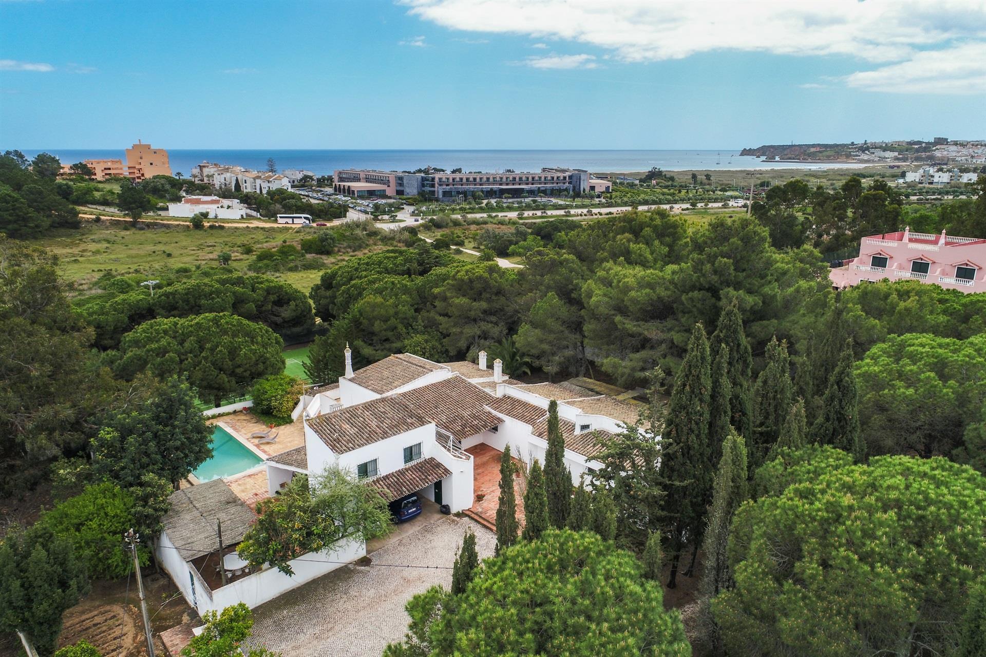 Vista aérea da propriedade / Sotheby's