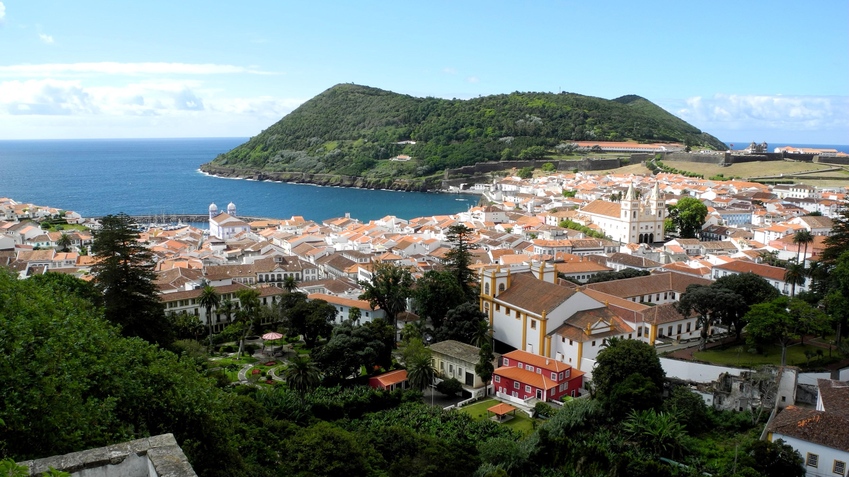 Centro histórico de Angra do Heroísmo (Açores)