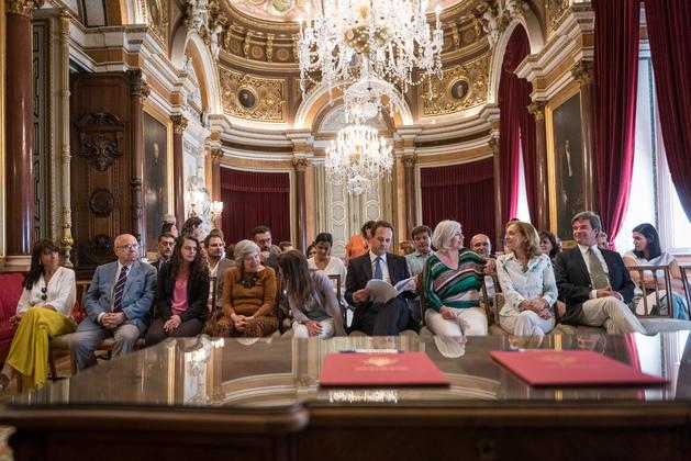 A cerimónia contou com a presença de várias personalidades / CML