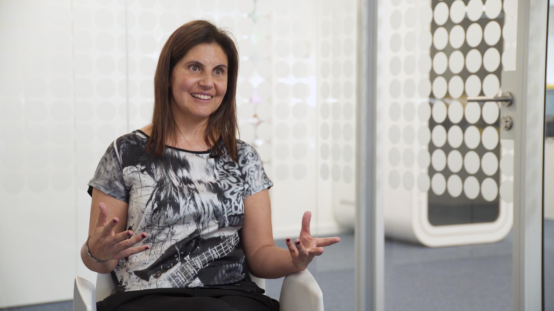 Camila Rodrigues, uma das fundadoras do Mulheres à Obra