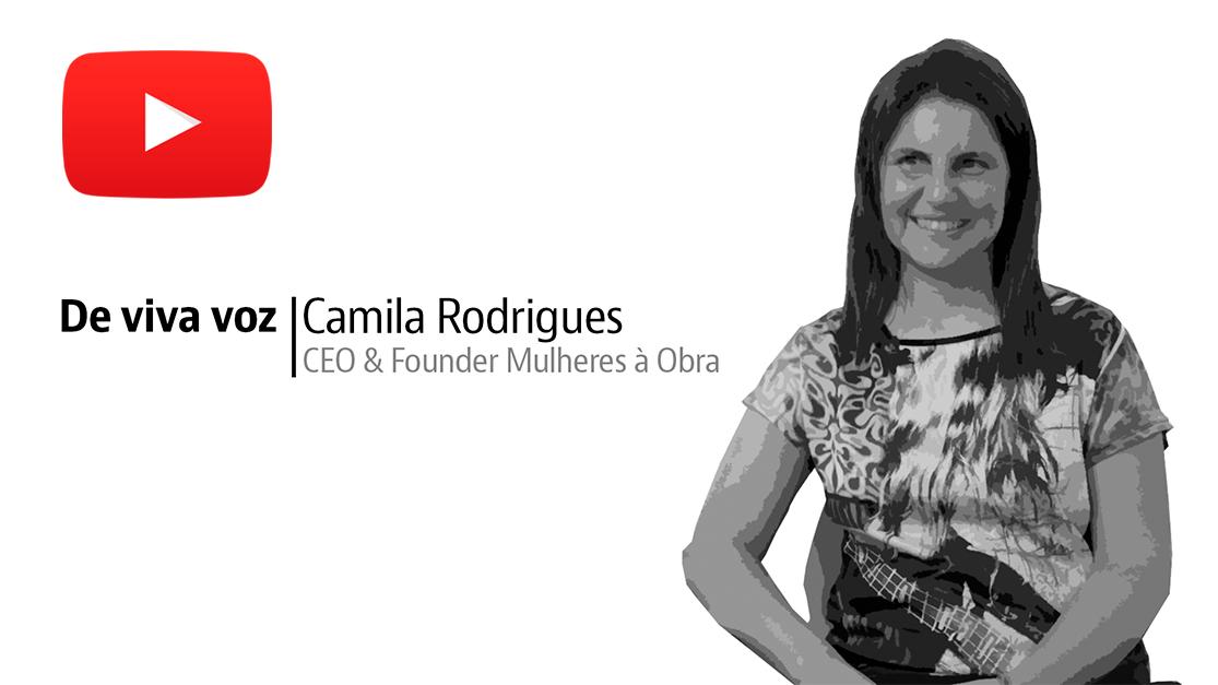 Camila Rodrigues, uma das fundadoras do projeto