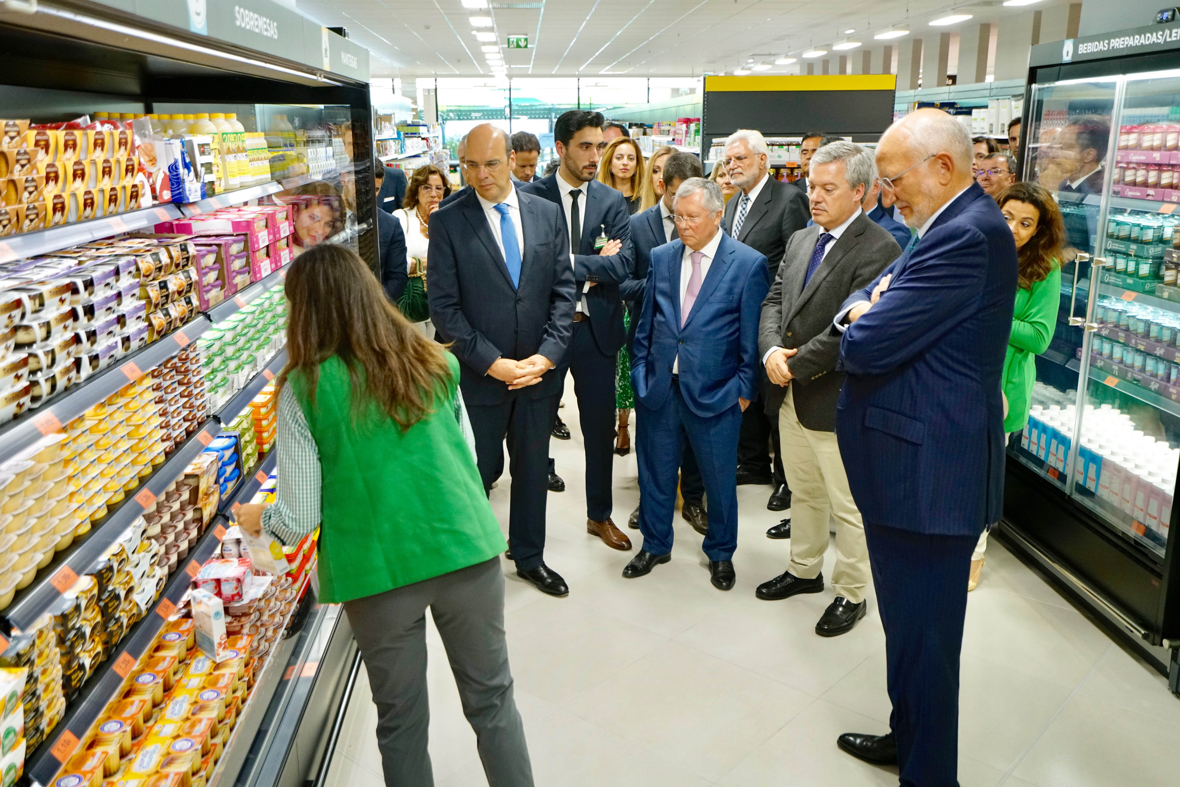 JuanRoig, presidente executivo, veio a Portugal anunciar novidades, na véspera da abertura da primeira loja em Portugal. / Mercadona