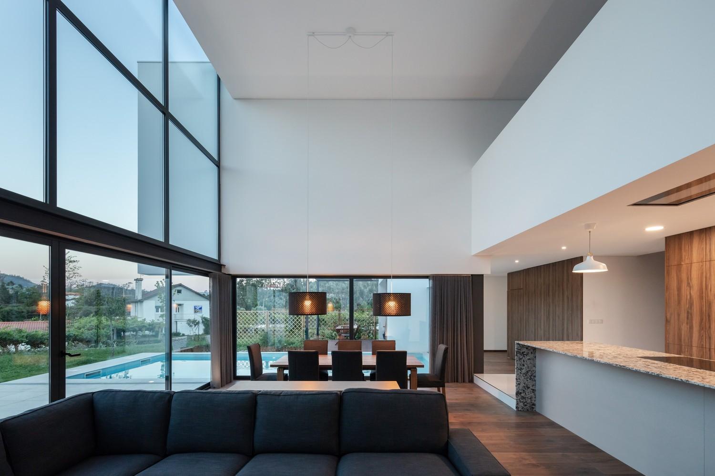 Uma sala muito moderna