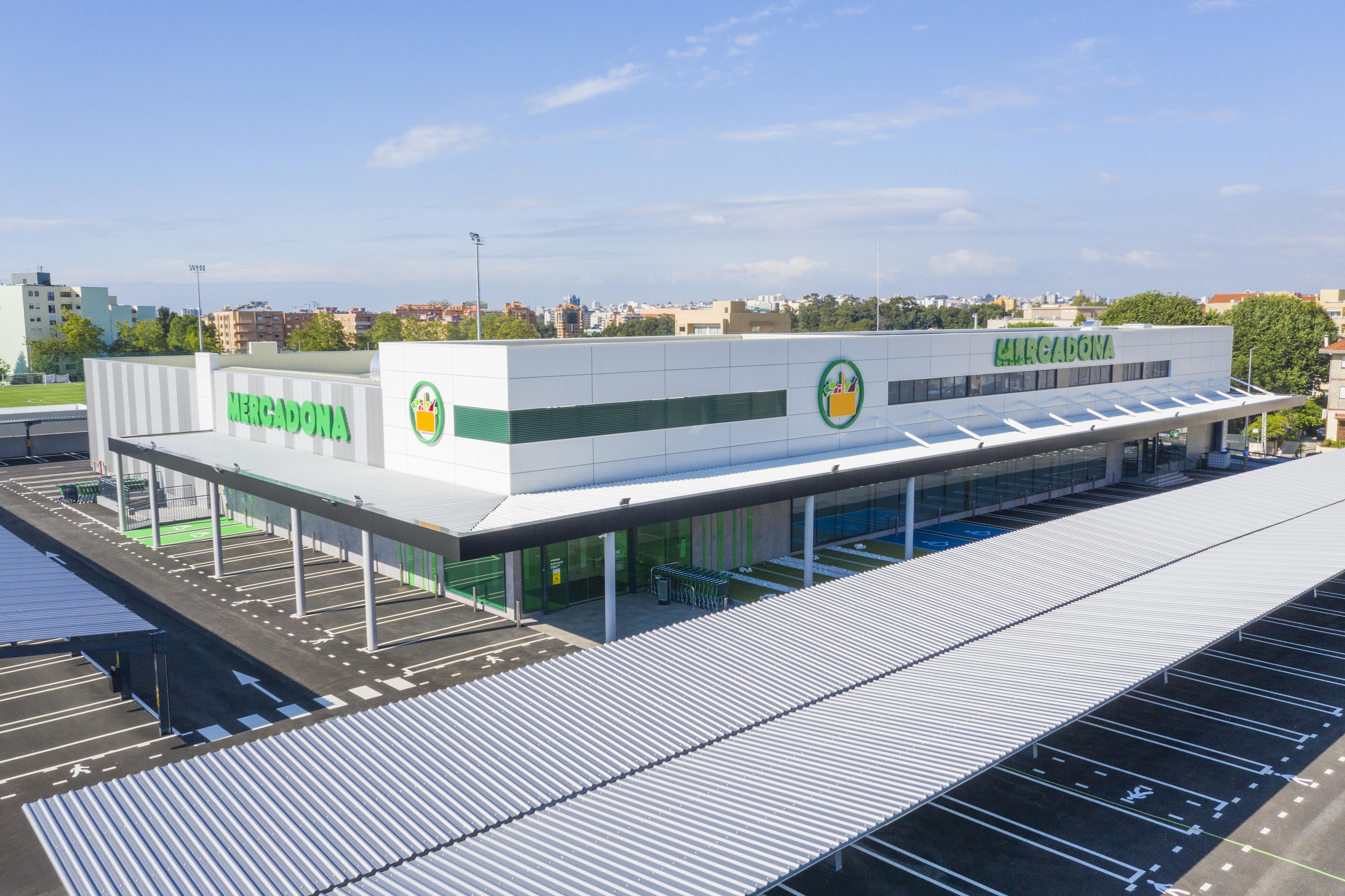 Loja do Canidelo, a primeira da cadeia espanhola em Portugal, abre hoje as portas. / Mercadona