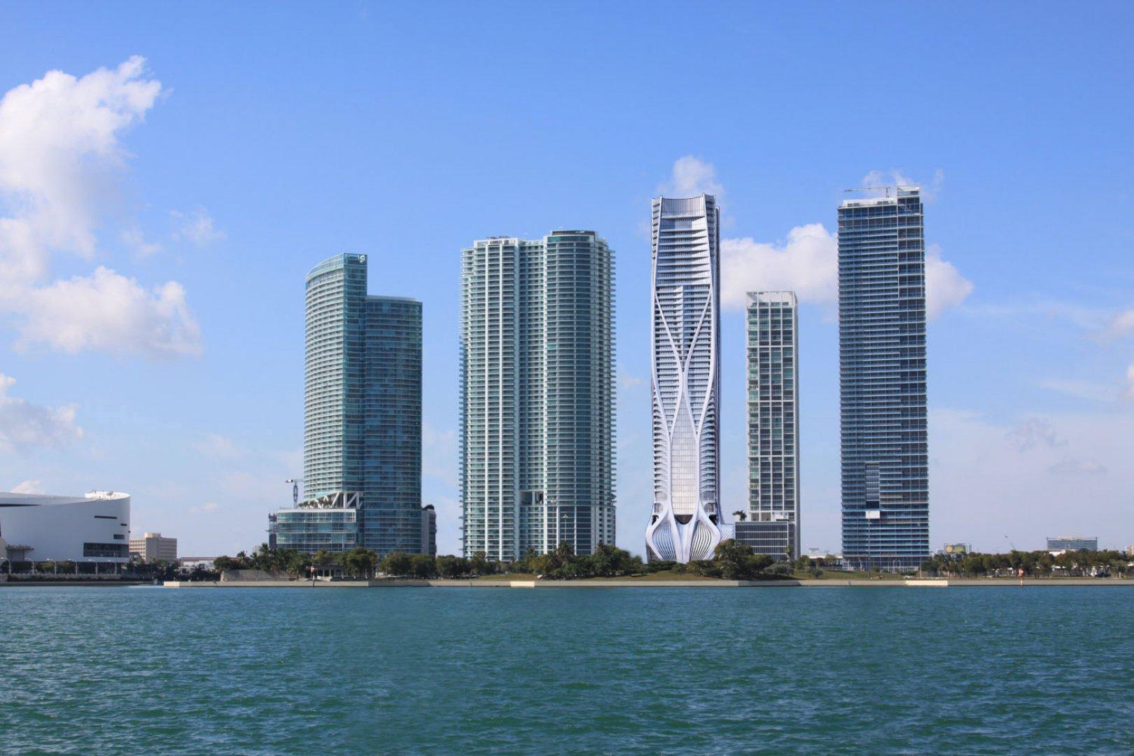 Será um dos edifícios mais altos de Miami