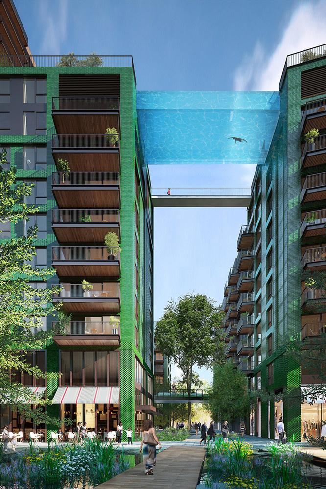 Complexo residencial Embassy Gardens em Londres