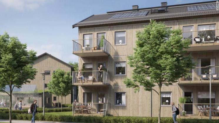 O protótipo das casas / Boklok