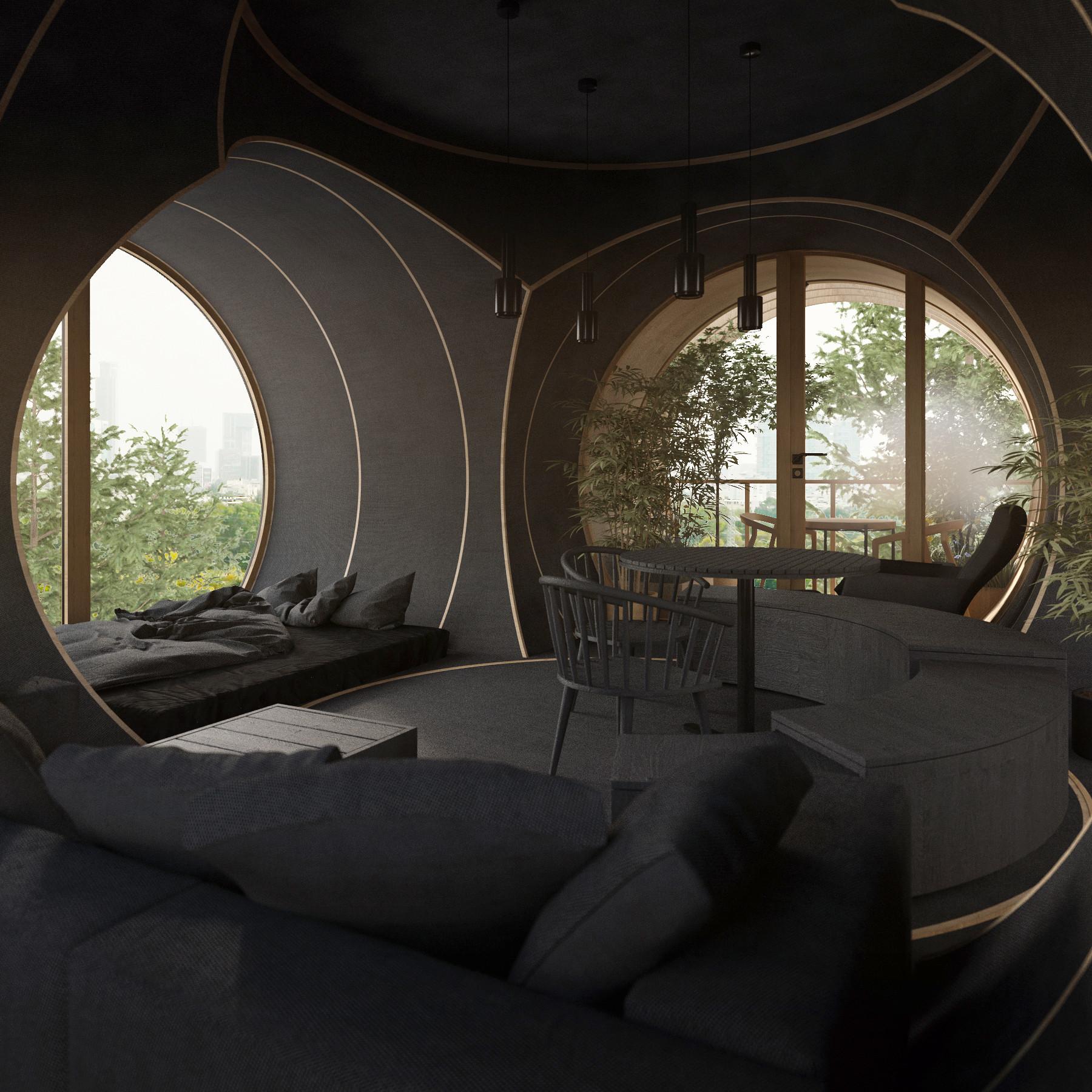 Pode ser uma casa ou até um alojamento turístico
