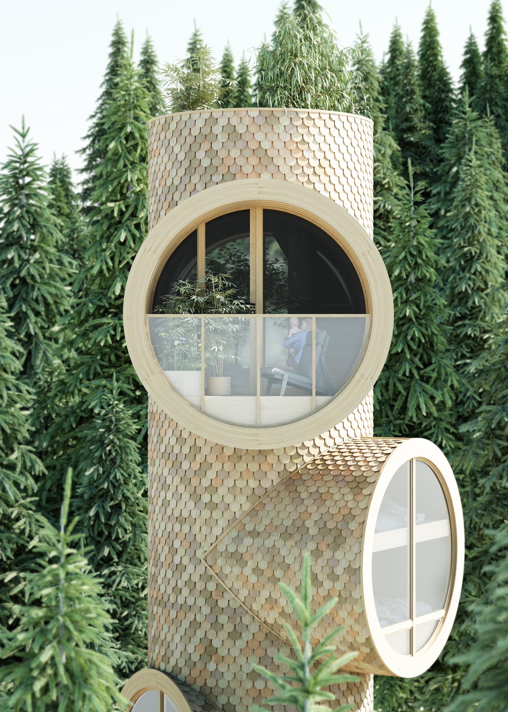 Uma casa que também é ecológica