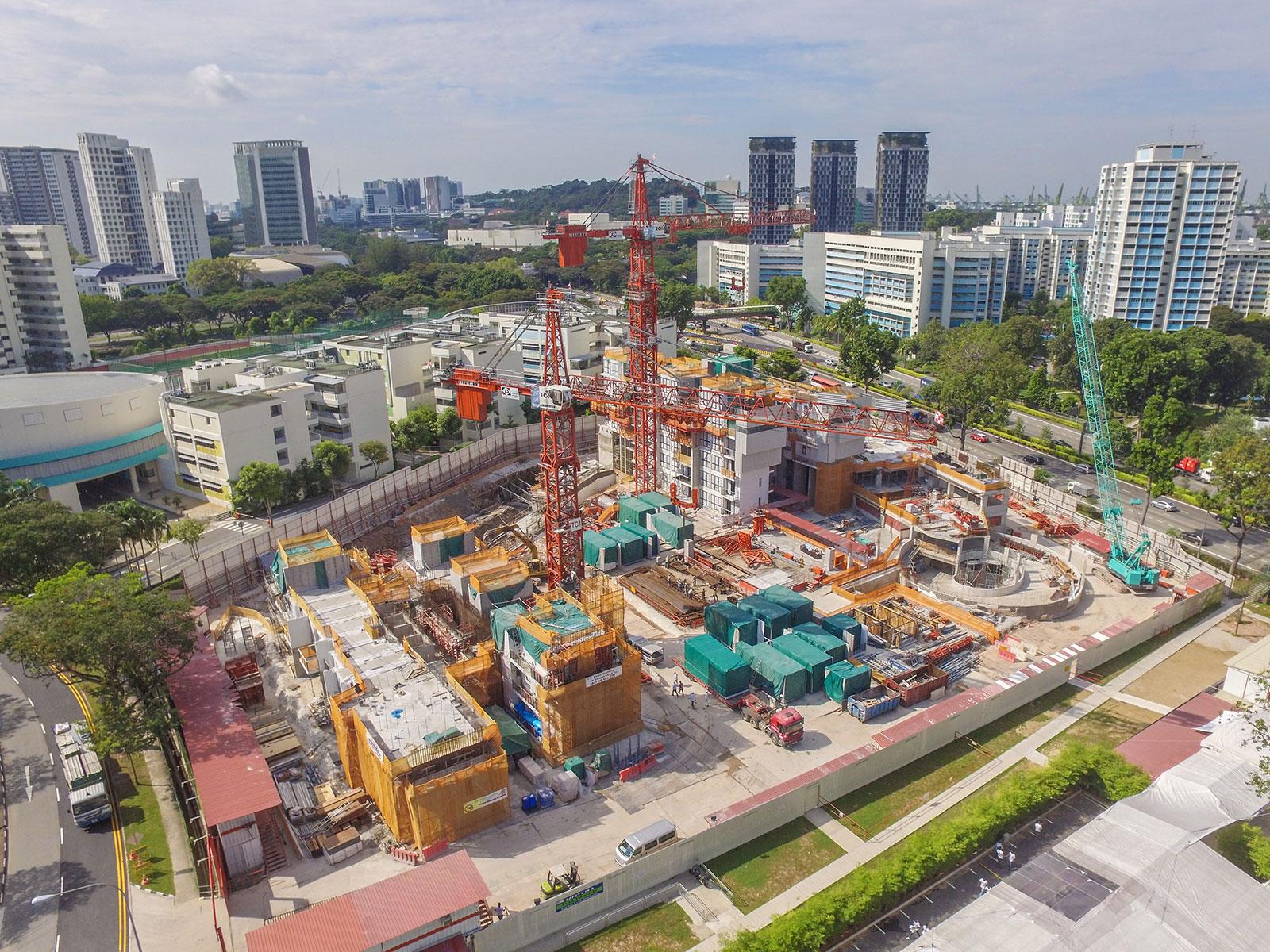 É um dos arranha-céus mais originais de Singapura