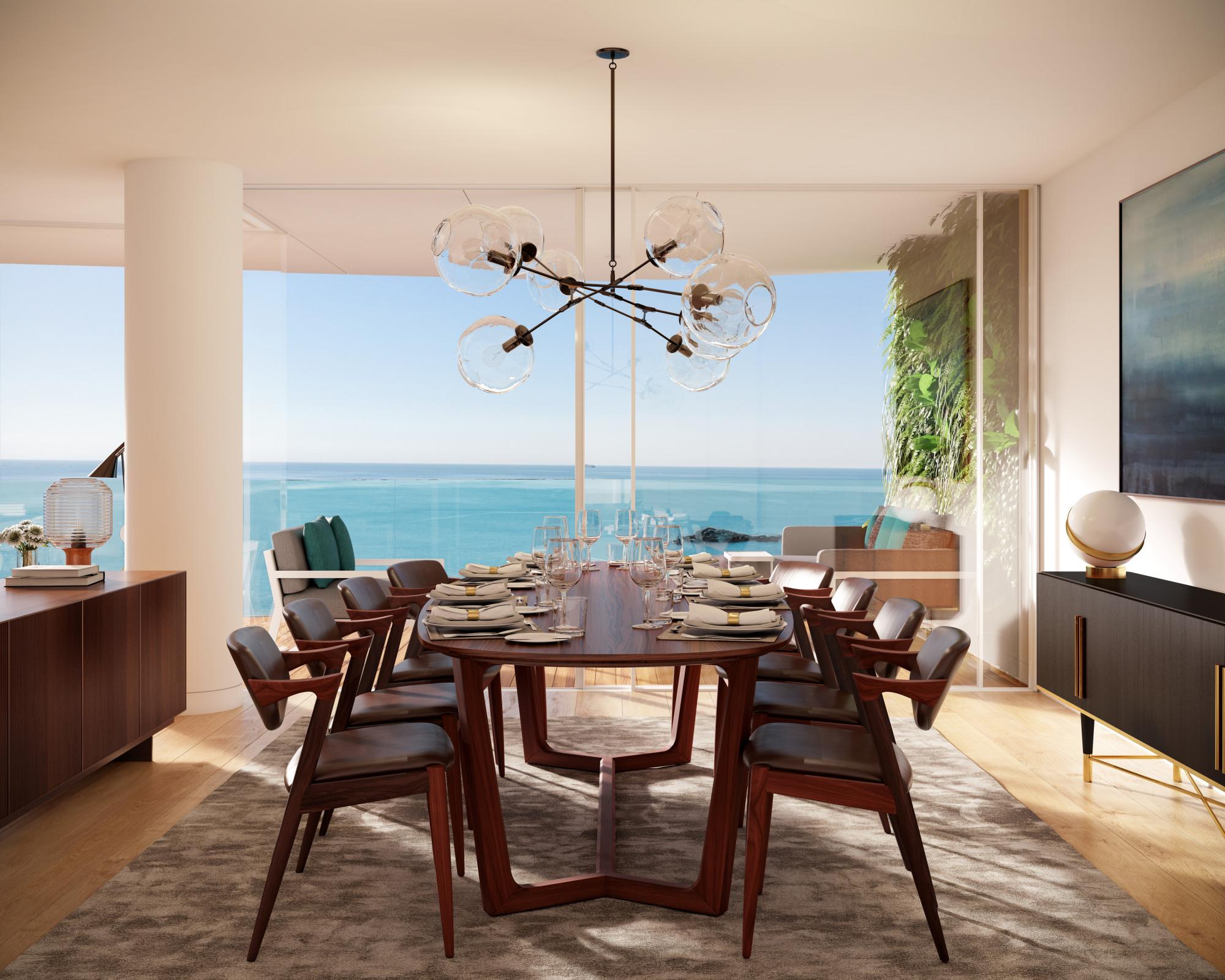 Este apartamento, um dos seis do empreendimento Foz Avenue, está à venda por 2,9 milhões   / Kendall & Associados