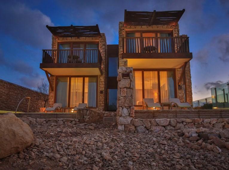 Um alojamento de luxo em Israel