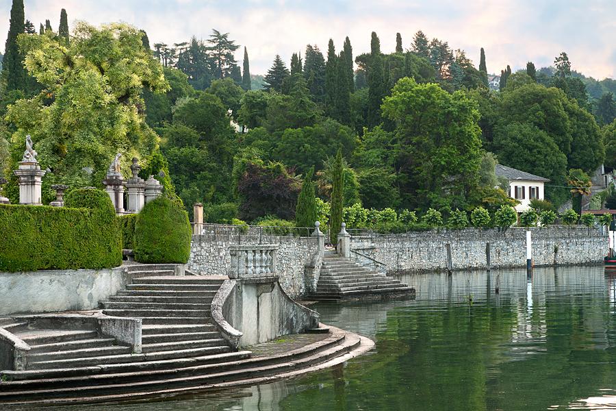 A parte do lago