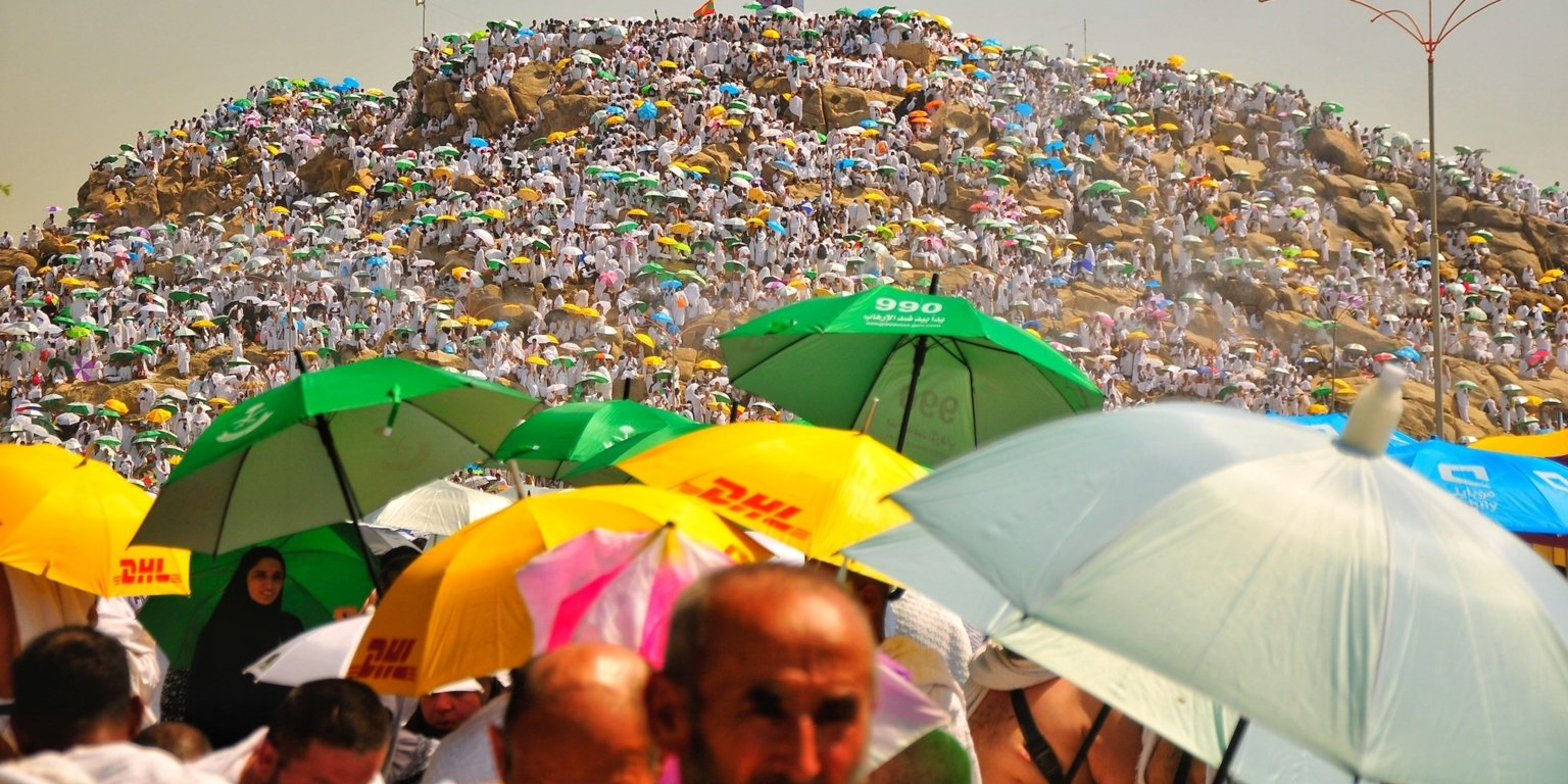 Meca é o lugar habitado mais quente da terra