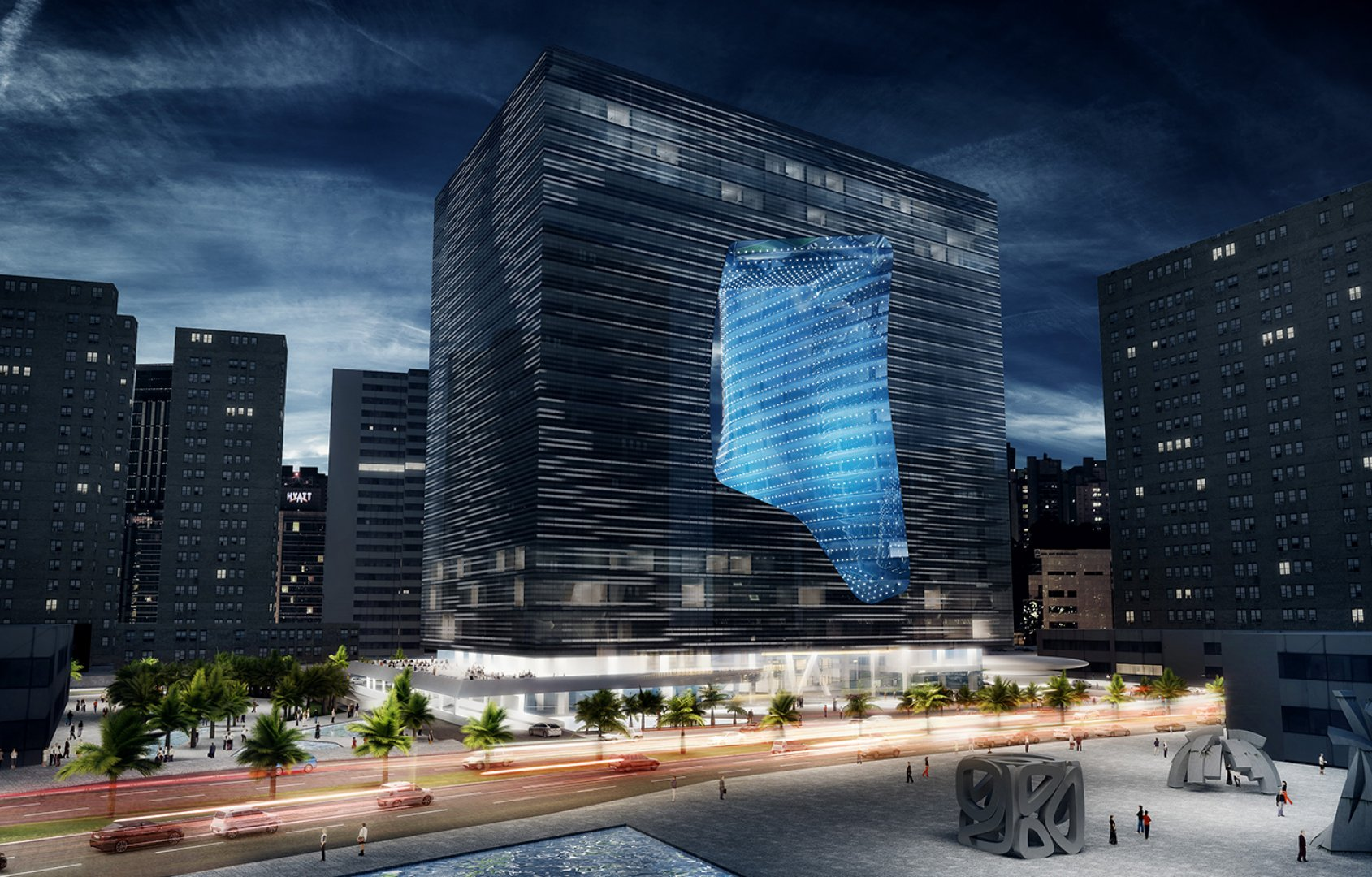Edifício tem 23.000 m2