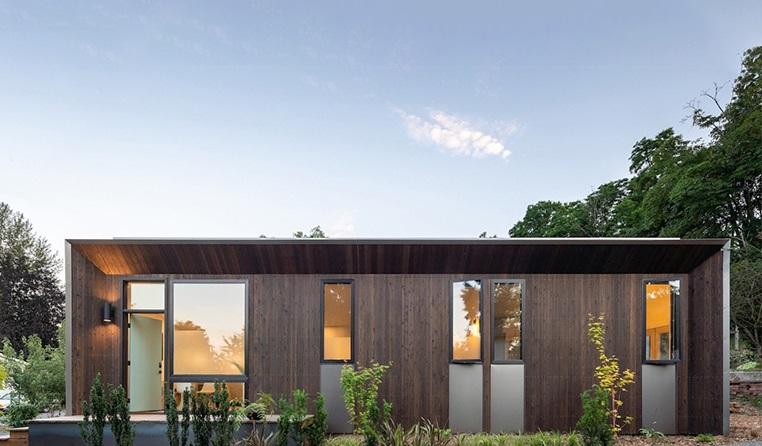 Casa sustentável em Seattle