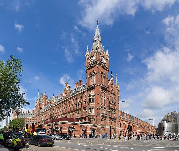 Estação de St. Pancras, Londres, Inglaterra