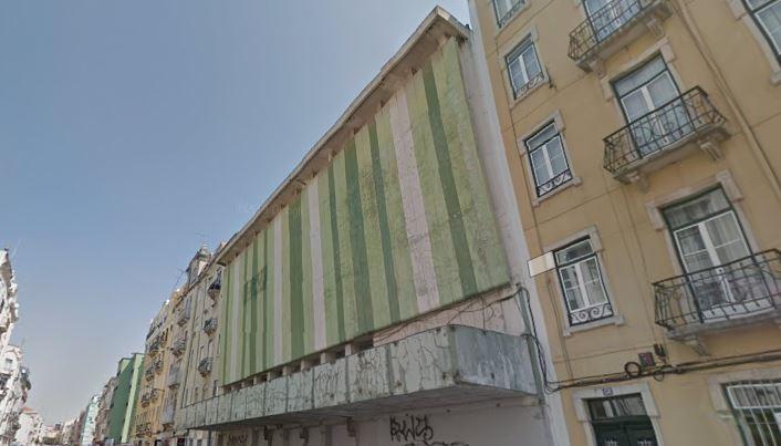 O edifício está devoluto / Google Maps