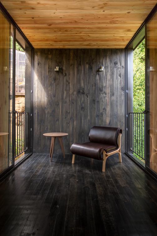 A madeira, elemento chave no interior