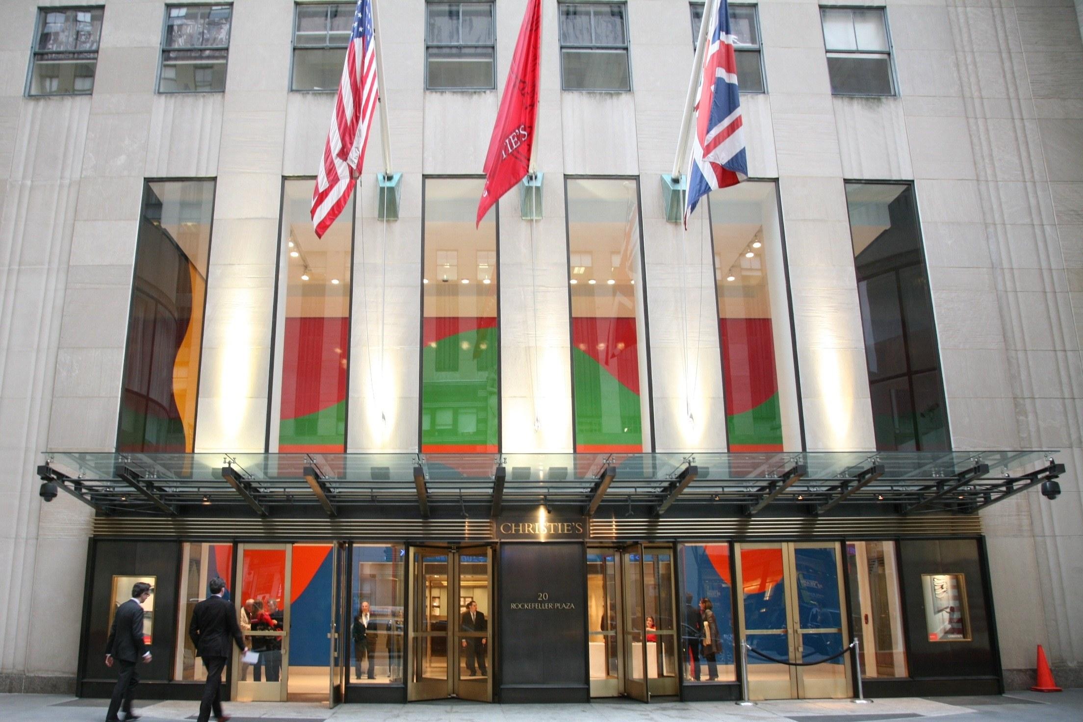 Semana de Arte Asiática da Christie's vai decorrer nas GaleriasRockfellerPlaza, em Manhattan. / Christie's