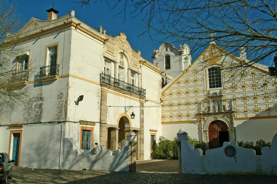 Convento do Carmo, concelho de Moura / revive.turismodeportugal.pt