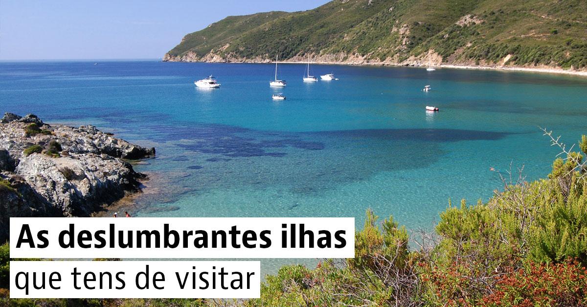 5 ilhas para descobrir em Portugal, Espanha e Itália