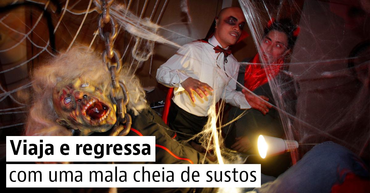 5 destinos assustadores para viver o Halloween