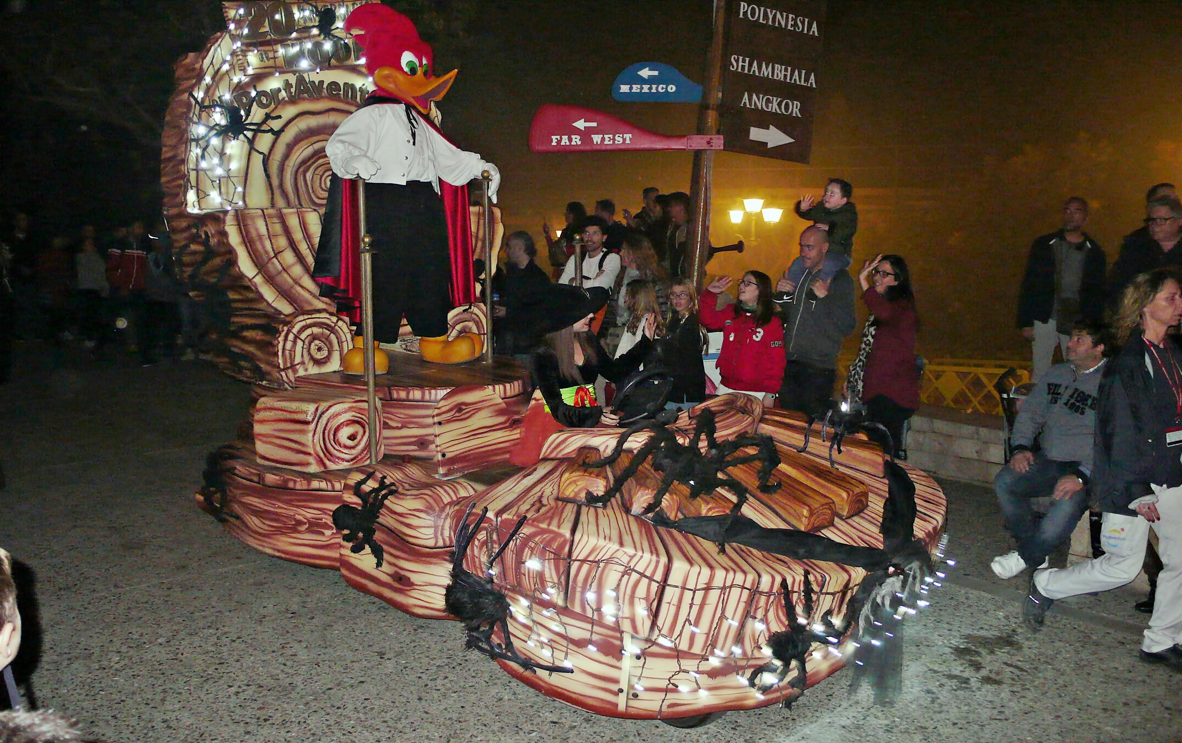 Halloween no parque Port Aventura