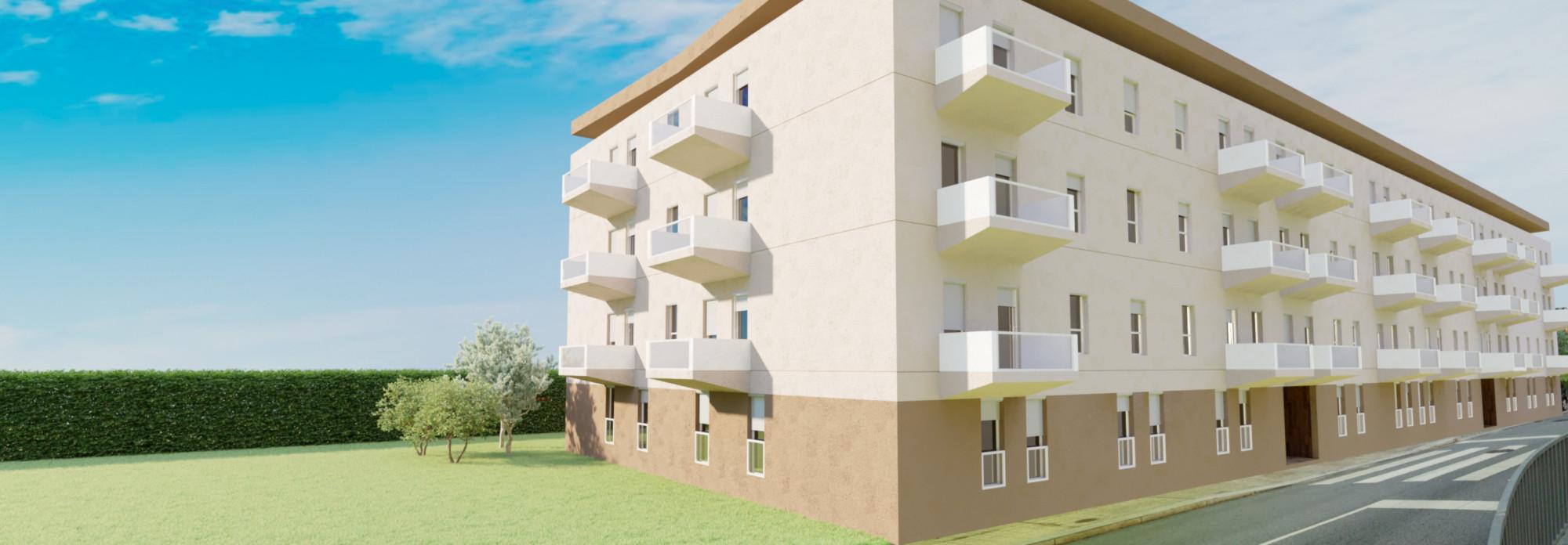 Projeto Ramalde Residence traz ao Porto 56 casas para a classe média / Grupo Omega