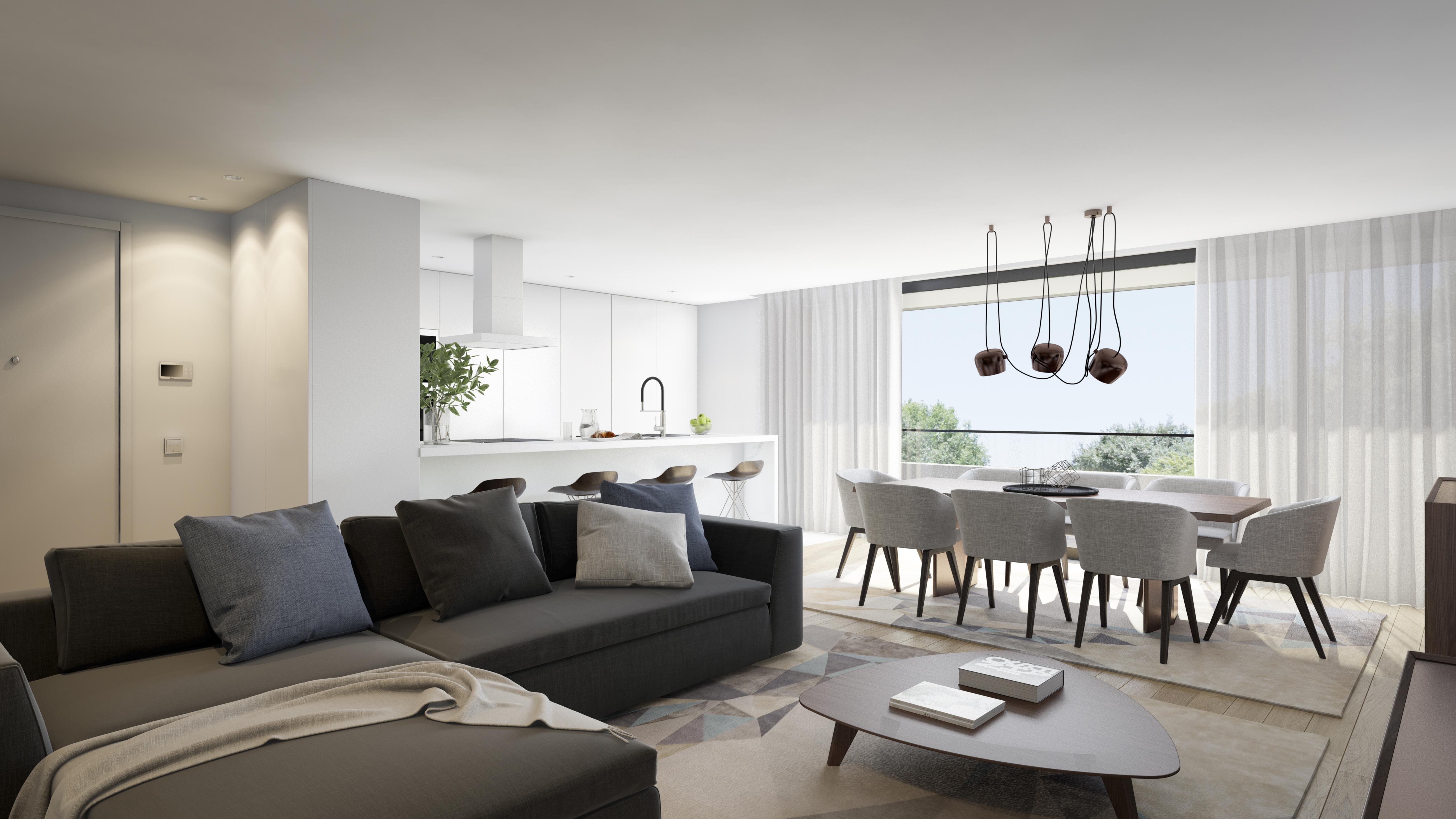O interior dos apartamentos / Group JRC