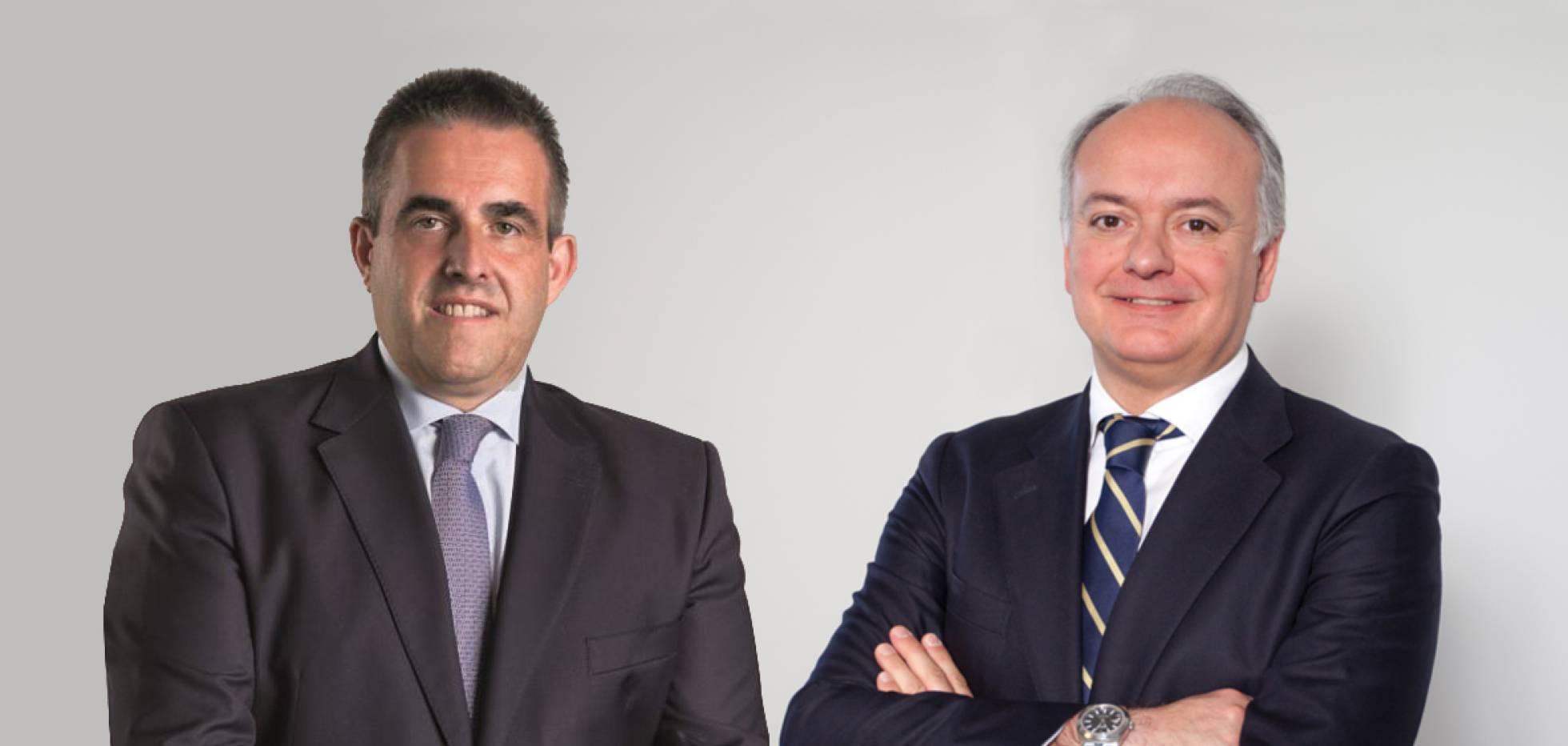 Víctor del Pozo, diretor executivo do El Corte Inglés (esquerda), e Javier Catena, responsável de Real Estate da empresa