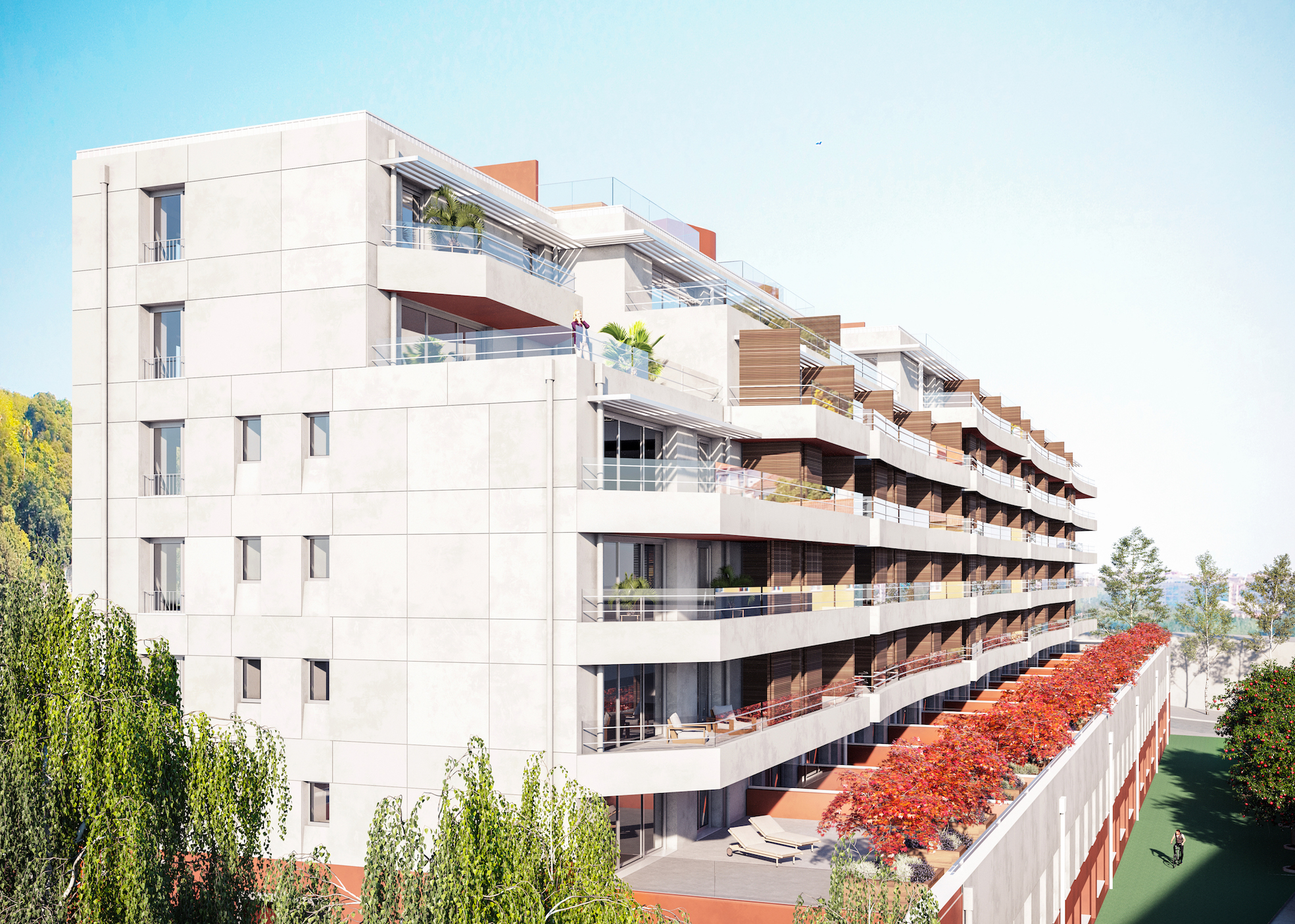 Condomínio fechado, com preços entre 195 mil euros e1,66milhões de euros. / Avenue