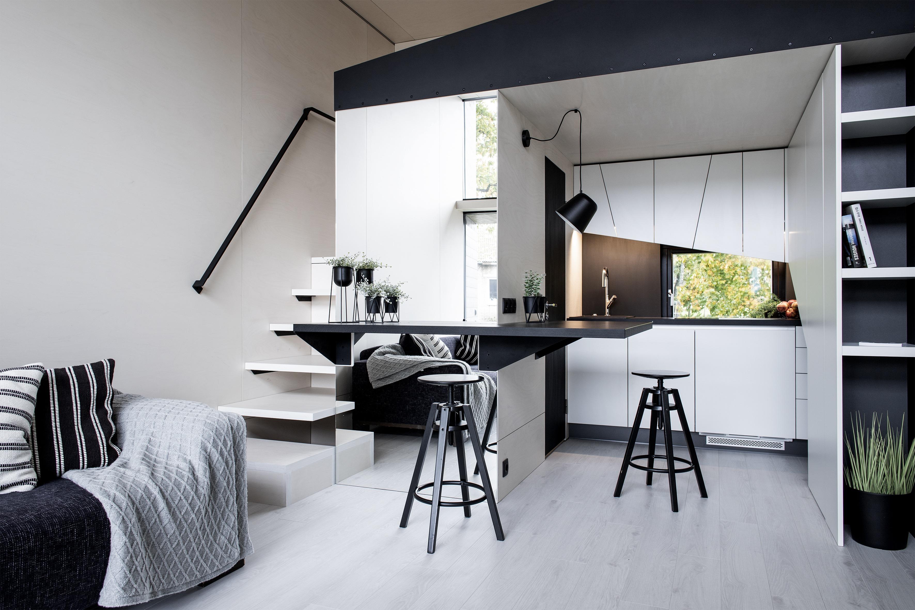 Um espaço agradável no interior